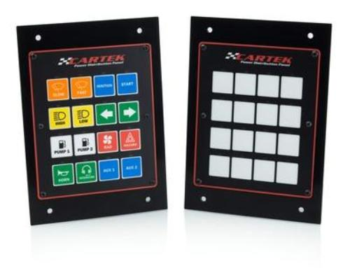 NEW 16-ch Power Distribution Panel by Cartek Motorsport