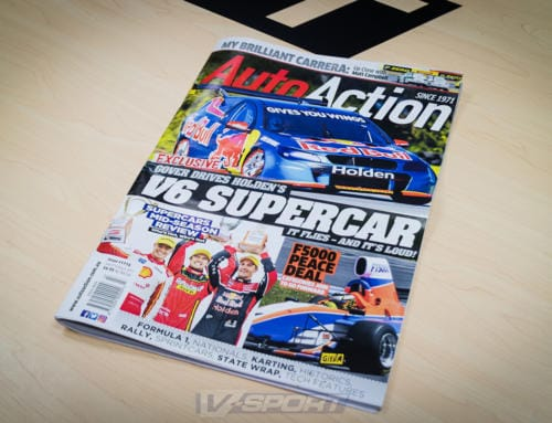 V-Sport in Auto Action Magazine