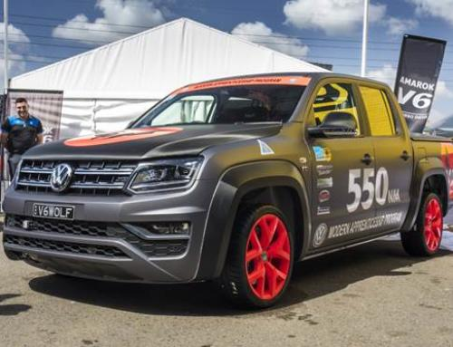 Volkswagen Apprentice Challenge: Amarok vs. Golf GTI at SMSP