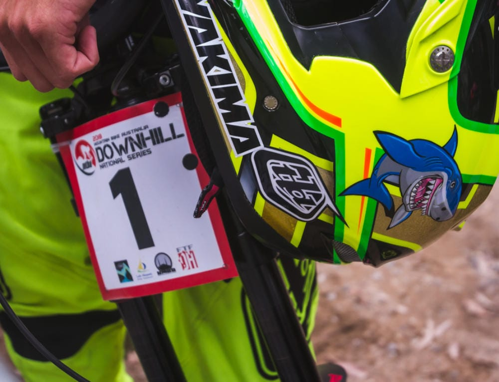 Moir dominates home track for Aussie DH Nationals #2