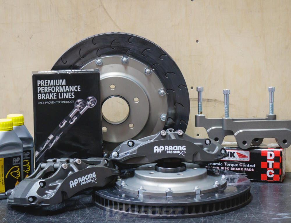Nissan R32, R33, R34 Skyline // AP Racing Brake Upgrade