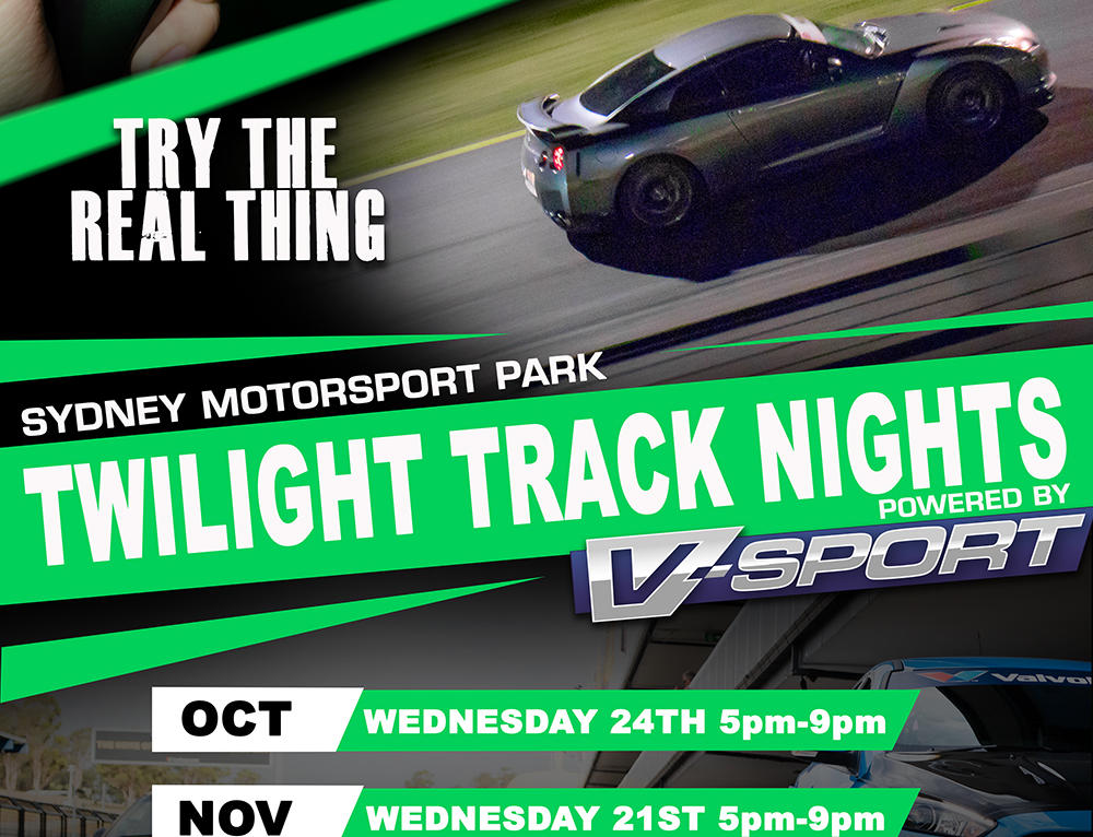 IT'S BACK…. TWILIGHT TRACK NIGHTS 2018