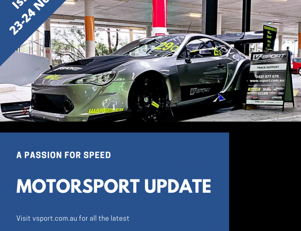 Motorsport weekend update: 23-24/11/2019